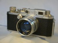 &#39;     IIC -RARE <EP> MILITARY- &#39;  Canon IIC Vintage  Rangefinder Camera c/w 1.8 50MM Serenar Lens -NICE-RARE-MILITARY EXCHANGE- £299.99